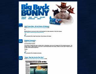bigbuckbunny.org screenshot