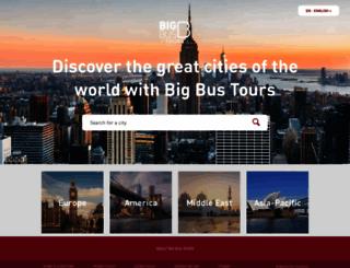 bigbustours.com screenshot