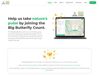 bigbutterflycount.com screenshot