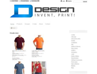 bigcanada.deco-shirts.com screenshot