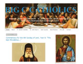 bigccatholics.com screenshot