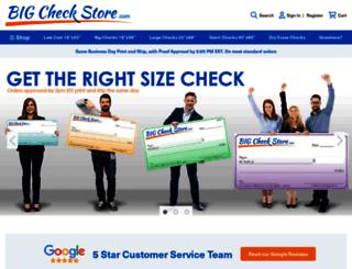 bigcheckstore.com screenshot