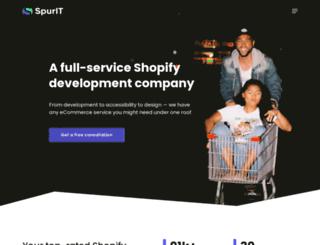 bigcommerce.spur-i-t.com screenshot