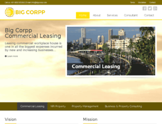 bigcorpp.com screenshot