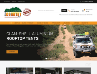 bigcountry.co.za screenshot