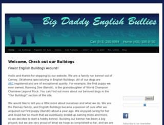 bigdaddyenglishbullies.com screenshot