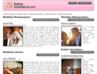 bigdaysmallworld.com screenshot