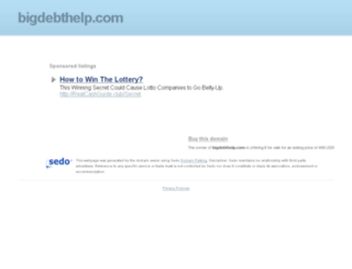 bigdebthelp.com screenshot