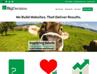 bigdecision.co.uk screenshot