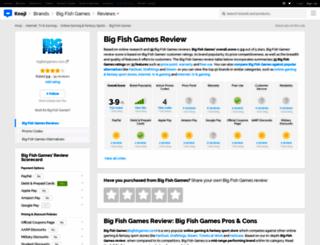 bigfishgames.knoji.com screenshot