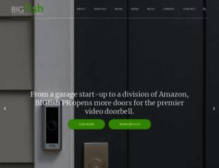 bigfishmarket.com screenshot