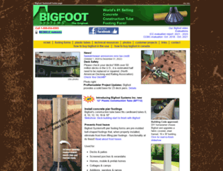 bigfootsystems.com screenshot