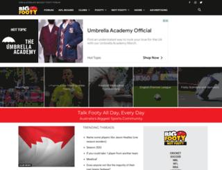 bigfooty.com.au screenshot