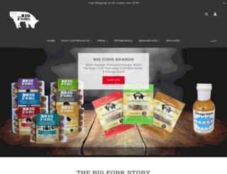 bigforkbrands.com screenshot