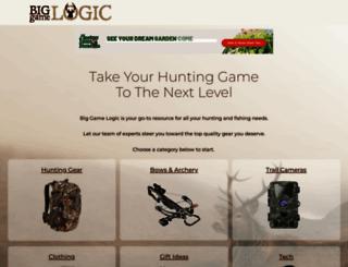 biggamelogic.com screenshot