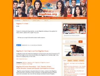 biggboss.org screenshot