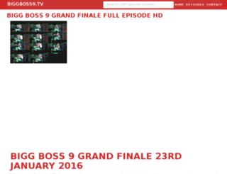 biggboss9.tv screenshot