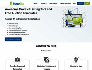 biggerbids.com screenshot