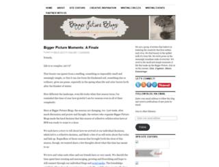 biggerpictureblogs.wordpress.com screenshot