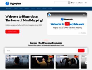biggerplate.com screenshot