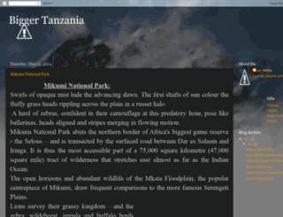 biggertanzania.blogspot.com screenshot