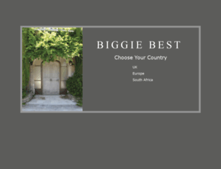 biggiebest.com screenshot