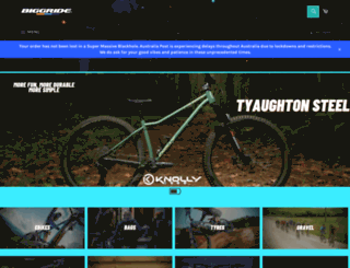 biggride.com screenshot