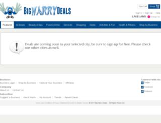 bigharrydeals.com screenshot
