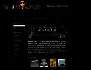 bigheadawards.net screenshot