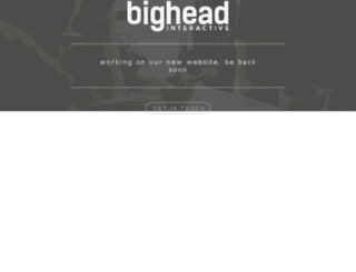 bigheadinteractive.com screenshot