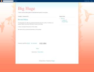 bighuge90.blogspot.com screenshot