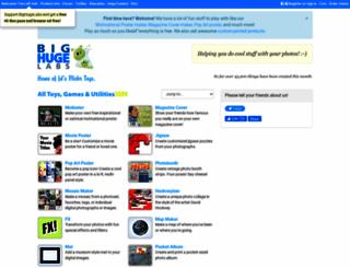 bighugelabs.com screenshot