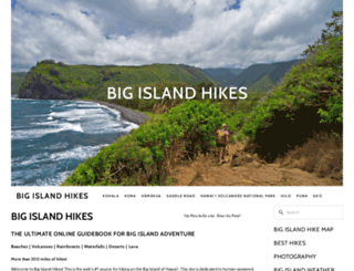 bigislandhikes.com screenshot