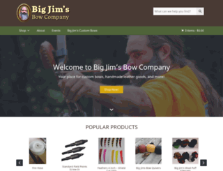 bigjimsbowcompany.com screenshot