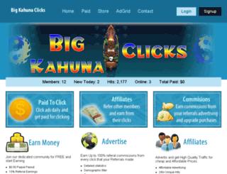 bigkahunaclicks.com screenshot