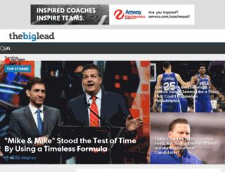 bigleadsports.com screenshot