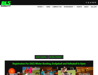 bigleaguekickball.com screenshot