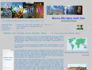 bigloveindia.com screenshot