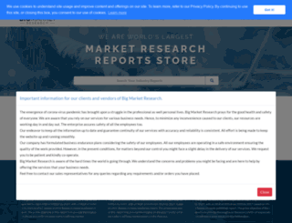 bigmarketresearch.com screenshot