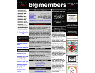 bigmembers.net screenshot