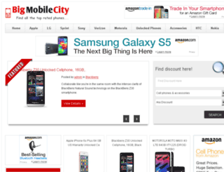 bigmobilecity.com screenshot