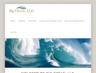 bigoceanllc.com screenshot