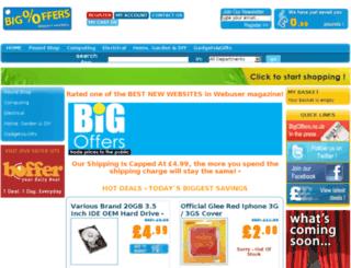 bigoffers.co.uk screenshot