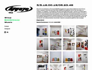 bigotesucio.squarespace.com screenshot