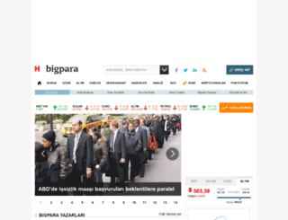 bigpara.com screenshot