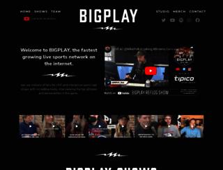 bigplay.com screenshot