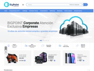 bigpoint.com.ar screenshot