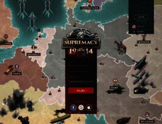 bigpoint.supremacy1914.com screenshot