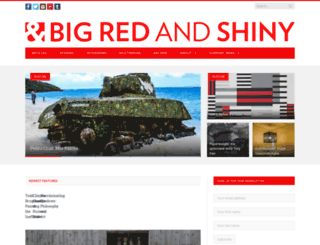 bigredandshiny.org screenshot