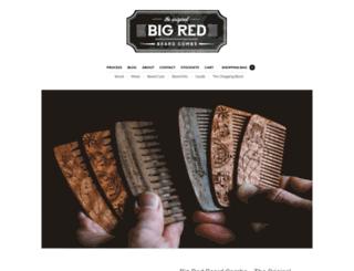 bigredbeardcombs.com screenshot